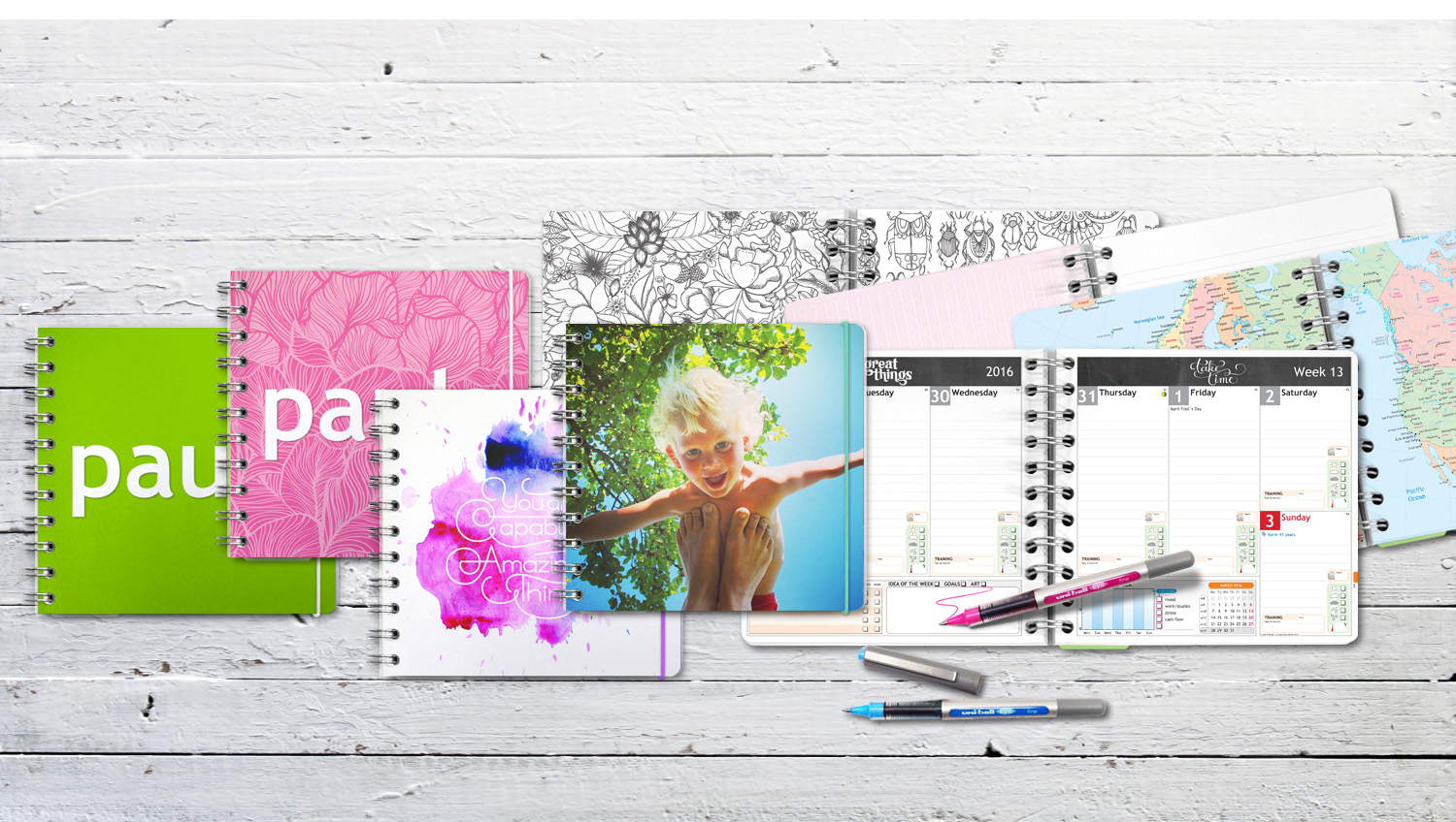Planner 2016 Create Your Own Planner At Personal